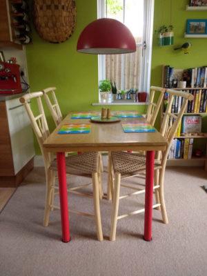 Gentleman's Chairs Dining Set