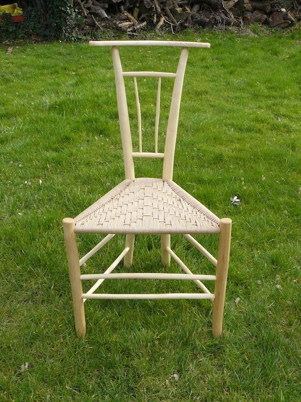 gentlemans chair, spindle back, rustic, ash