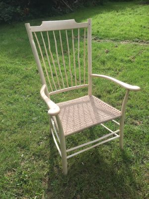 Wavy Spindle Back 'Uncle Fred' Armchair