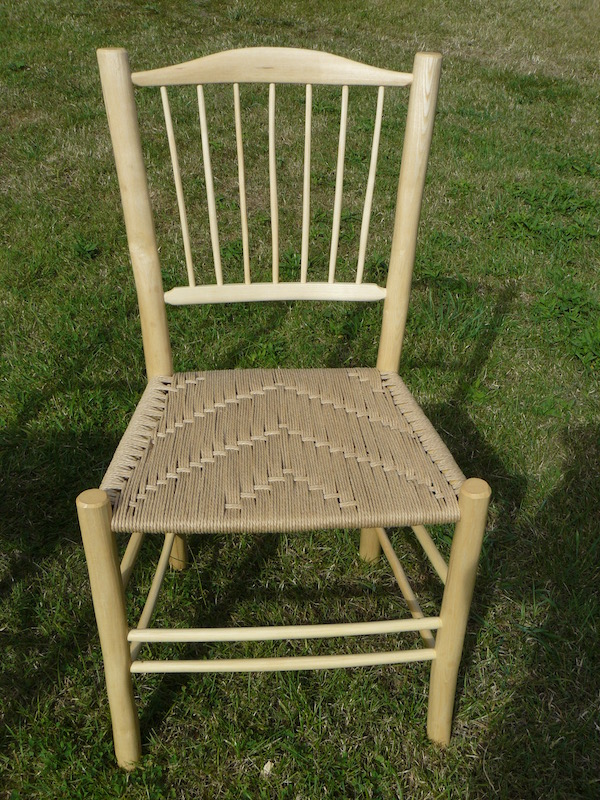 7 Spindle Back Side Chair