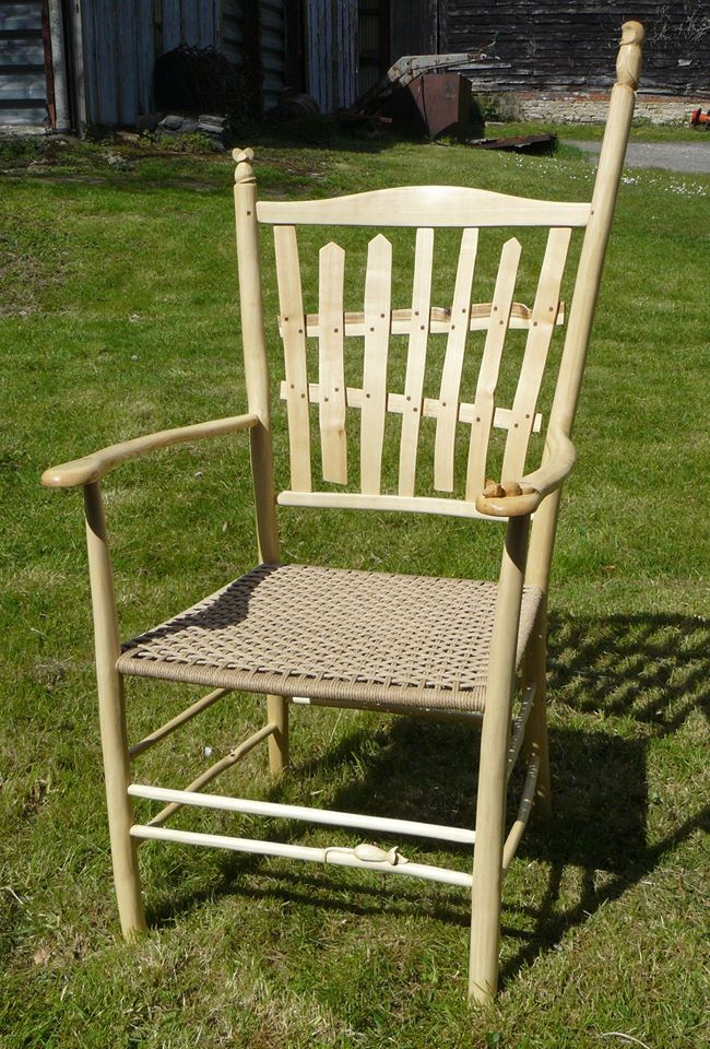 bodgers ball 2016, picket fence chair, award-winning, 1st place, rustic ash chairs, green woodworking