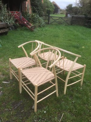 Swoop Chairs Dining Set