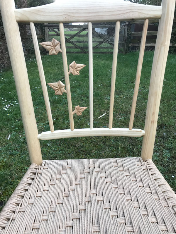ivy spindle back dining chair A66