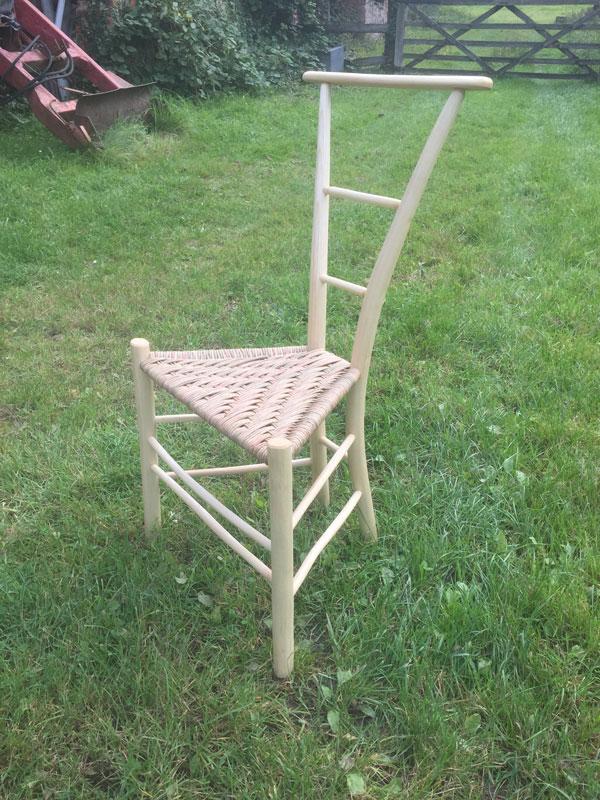 Simple Gentleman's Chair with 2 horizontal back bars