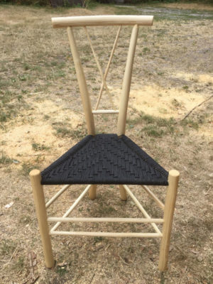 X-Back Spindle Gentleman's Chair