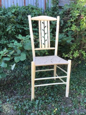 Negative Leaf Lath Side Chair