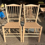 Making Spindle-back Side Chairs