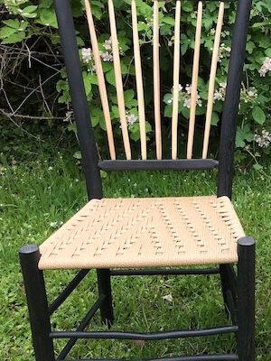 Harlequin Black – Spindleback Chair