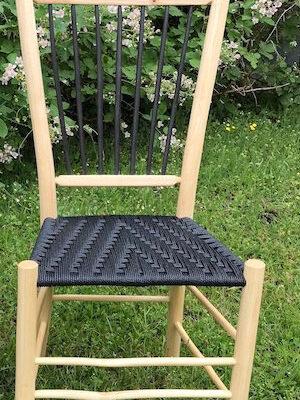 Harlequin Natural – Spindleback Chair