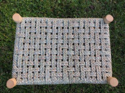 stool seat woven in kambaa